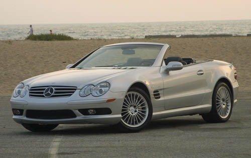 2005 mercedes benz sl class convertible sl55 amg fq oem 1 500