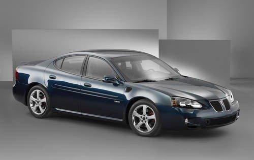 2005 pontiac grand prix sedan gxp fq oem 1 500