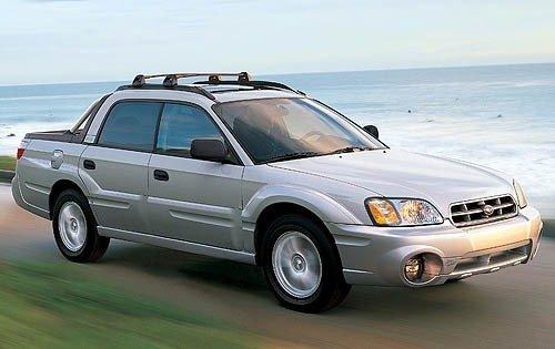 2005 subaru baja crew cab pickup sport fq oem 1 500