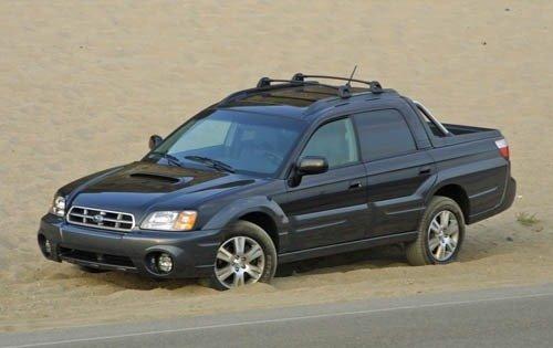 2005 subaru baja crew cab pickup turbo fq oem 1 500