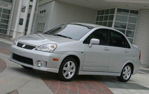 2005 suzuki aerio sedan lx fq oem 1 500