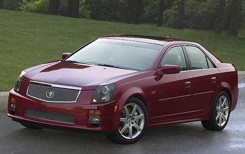 2006 cadillac cts v sedan base fq oem 1 500