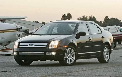 2006 ford fusion sedan sel fq oem 2 500