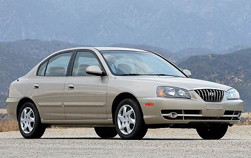 2006 hyundai elantra sedan limited sulev fq oem 1 500