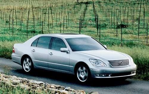 2006 lexus ls 430 sedan base fq oem 2 500