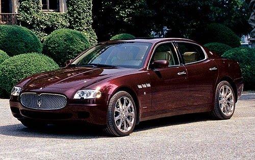 2006 maserati quattroporte sedan executive gt fq oem 1 500
