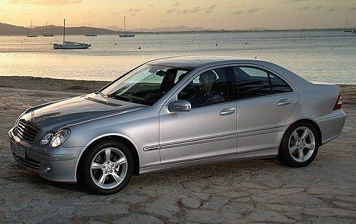 2006 mercedes benz c class sedan c230 sport fq oem 1 500