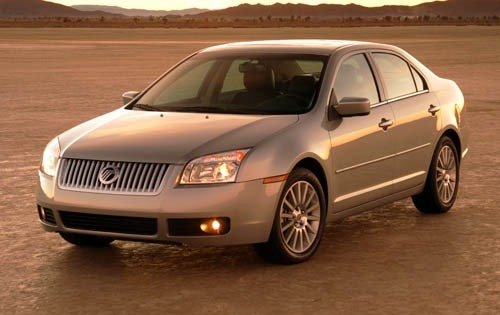 2006 mercury milan sedan premier fq oem 1 500