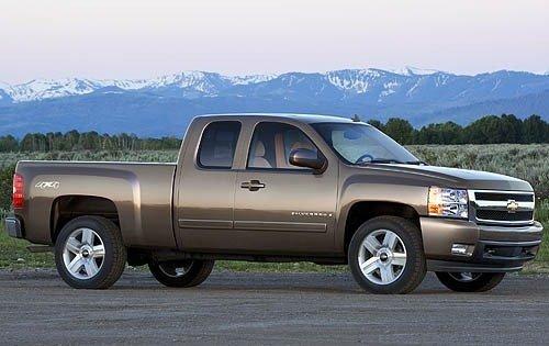 2007 chevrolet silverado 1500 extended cab pickup ltz fq oem 1 500