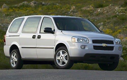 2007 chevrolet uplander cargo minivan cargo fq oem 1 500