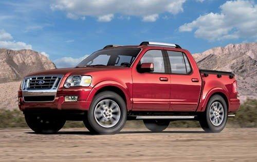 2007 ford explorer sport trac crew cab pickup base fq oem 1 500
