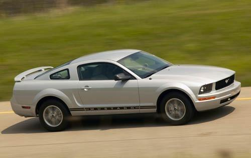 2007 ford mustang coupe premium fq oem 1 500
