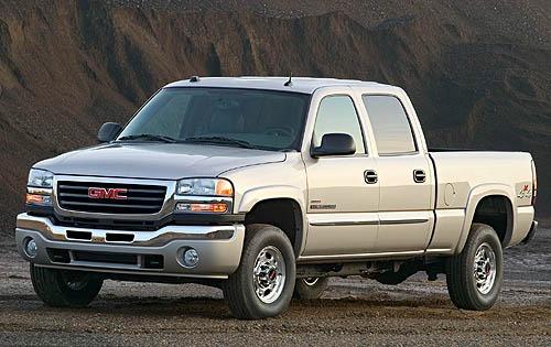 2007 gmc sierra 3500 classic crew cab pickup slt fq oem 1 500