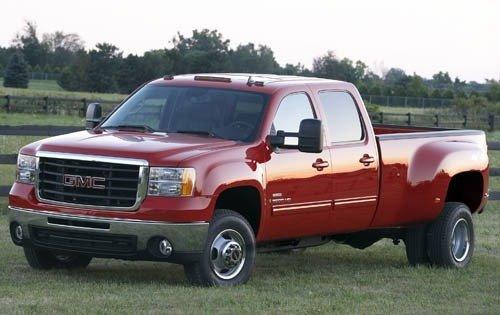 2007 gmc sierra 3500hd crew cab pickup slt fq oem 2 500