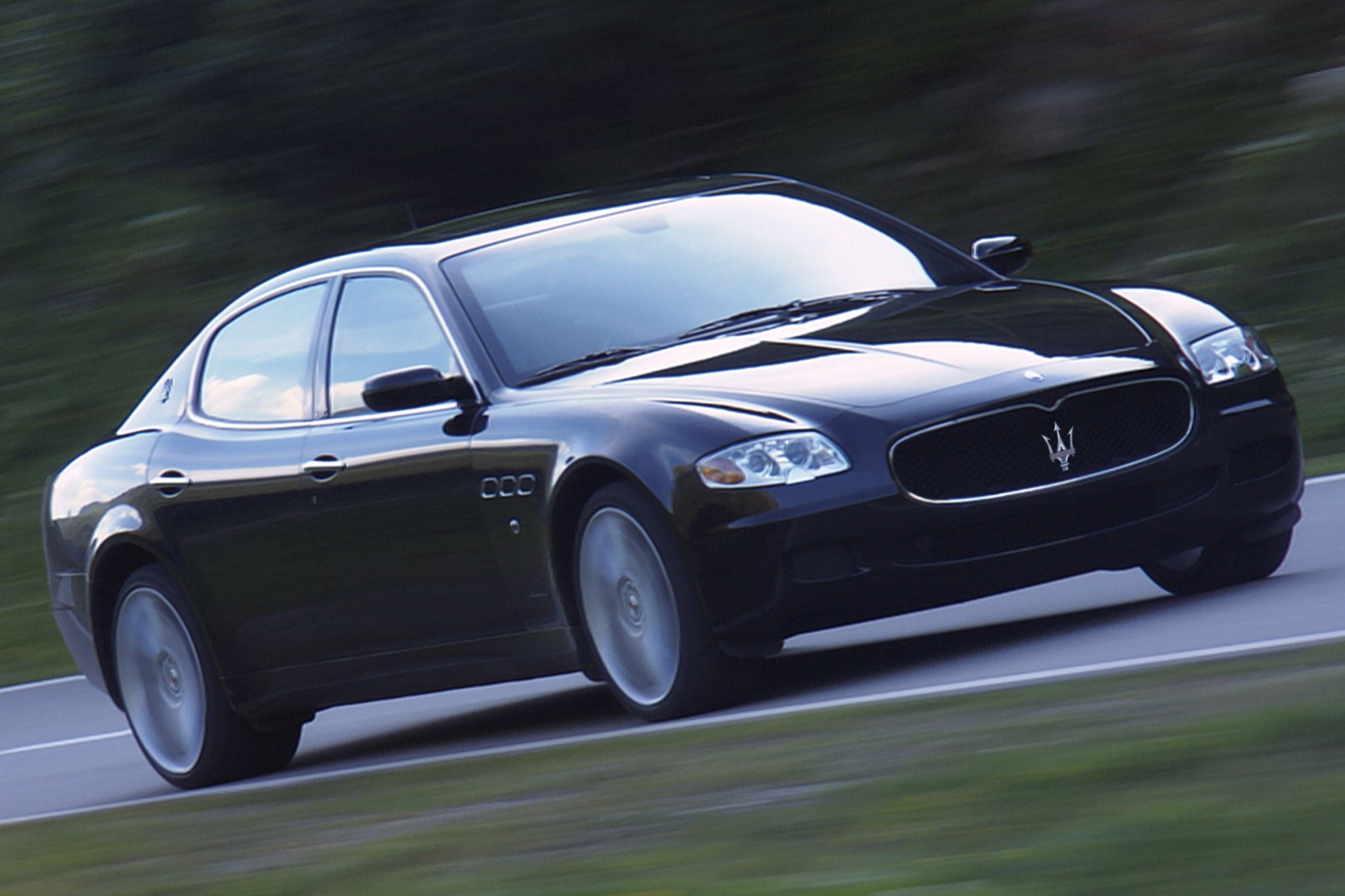 2007 maserati quattroporte sedan sport gt automatic fq oem 2 2048