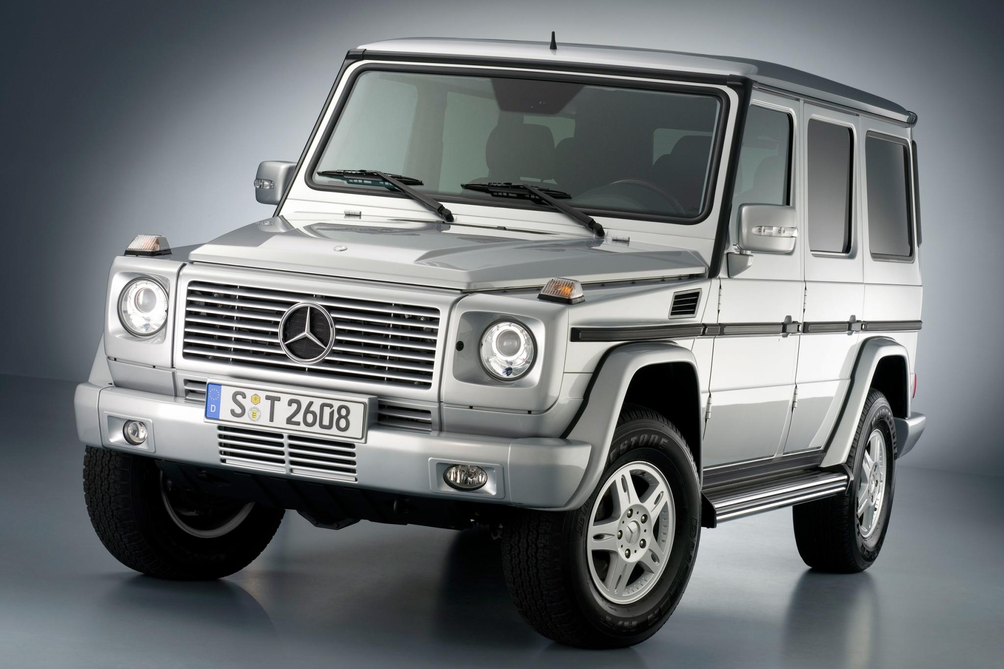 2007 mercedes benz g class 4dr suv g500 fq oem 2 2048
