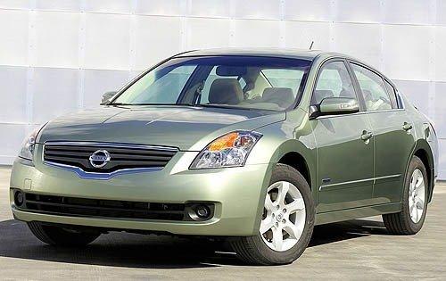2007 nissan altima hybrid sedan base fq oem 1 500