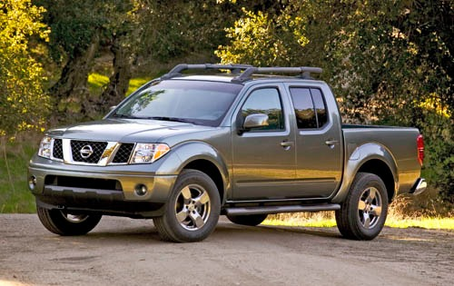 2007 nissan frontier crew cab pickup le fq oem 1 500