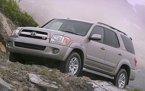 2007 toyota sequoia 4dr suv limited fq oem 1 500