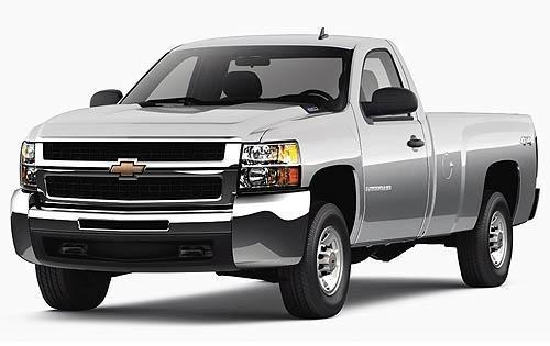 2008 chevrolet silverado 2500hd regular cab pickup lt1 fq oem 1 500