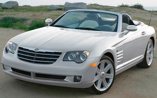 2008 chrysler crossfire convertible limited fq oem 1 500