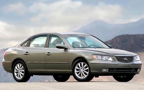 2008 hyundai azera sedan limited fq oem 1 500