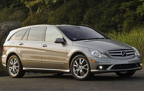 2008 mercedes benz r class wagon r350 fq oem 1 500