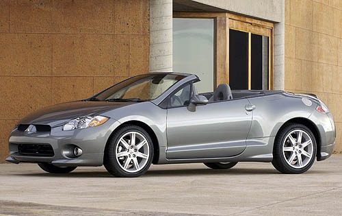 2008 mitsubishi eclipse spyder convertible gt fq oem 2 500