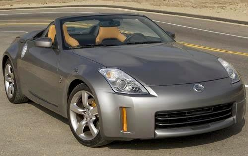 2008 nissan 350z convertible grand touring fq oem 1 500
