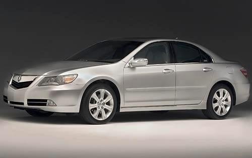 2009 acura rl sedan base fq oem 1 500