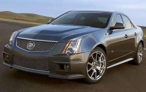2009 cadillac cts v sedan base fq oem 1 500