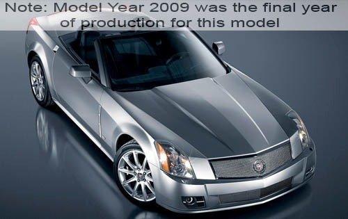 2009 cadillac xlr v convertible base fq oem 1 500