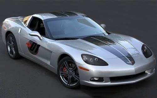 2009 chevrolet corvette coupe competition sport spec ed fq oem 1 500