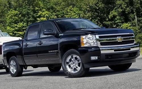 2009 chevy silverado tire rotation