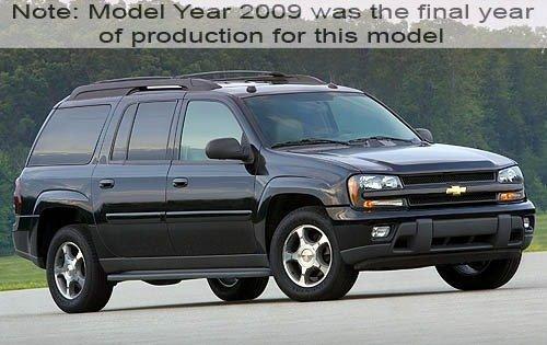 2009 chevrolet trailblazer 4dr suv lt3 fq oem 1 500