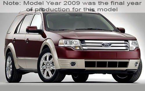 2009 ford taurus x wagon eddie bauer fq oem 1 500