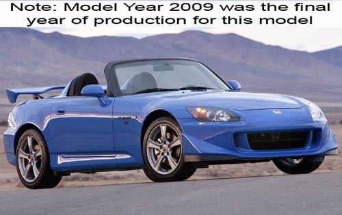 2009 honda s2000 convertible cr fq oem 1 500