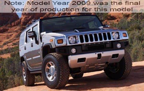 2009 hummer h2 4dr suv base fq oem 2 500