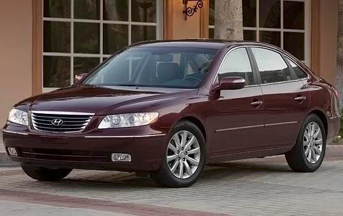 2009 hyundai azera sedan limited fq oem 1 500