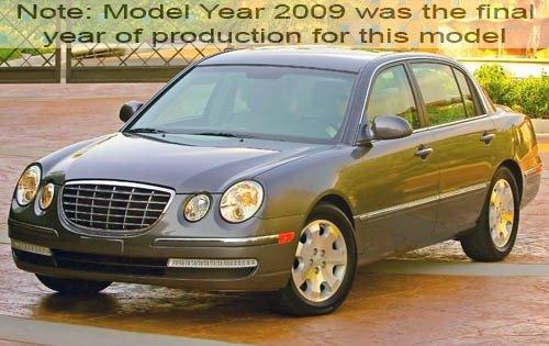 2009 kia amanti sedan base fq oem 1 500