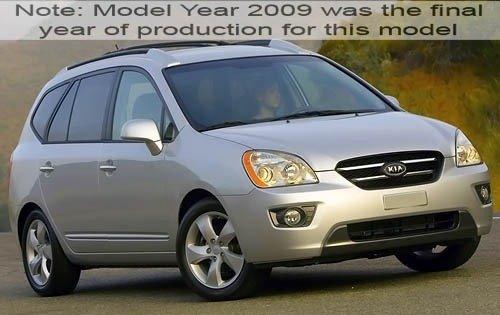 2009 kia rondo wagon ex fq oem 1 500