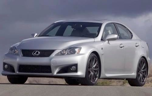 2009 lexus is f sedan base fq oem 2 500