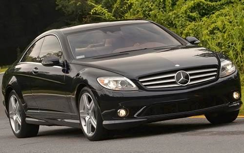 2009 mercedes benz cl class coupe cl550 4matic fq oem 2 500