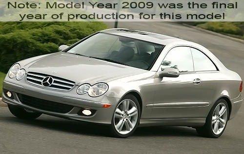 2009 mercedes benz clk class coupe clk350 fq oem 1 500