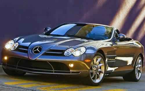 2009 mercedes benz slr mclaren convertible base fq oem 2 500