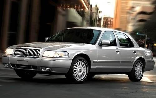 2009 mercury grand marquis sedan ls fq oem 1 500
