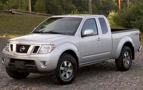 2009 nissan frontier extended cab pickup pro 4x fq oem 1 500
