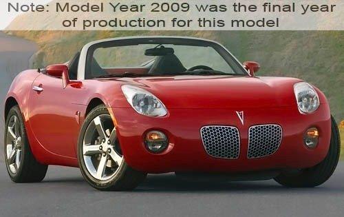 2009 pontiac solstice convertible base fq oem 1 500