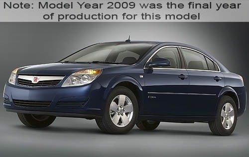 2009 saturn aura hybrid sedan base fq oem 1 500