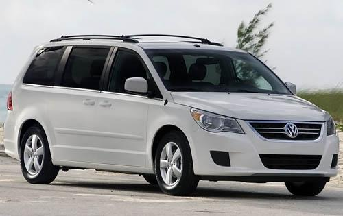 2009 volkswagen routan passenger minivan sel premium fq oem 2 500
